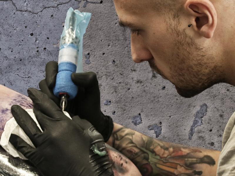 Tattoo Artist Paolo